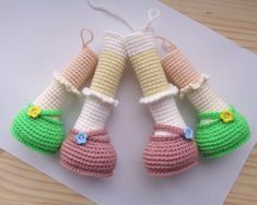 top -&nbspslideit Resources and Information. Crochet Dolls Free Patterns, Crochet Doll Pattern, Amigurumi Patterns, Amigurumi Doll, Doll Patterns, Crochet Baby Socks, Baby Knitting, Diy Crafts Crochet, Crochet Rabbit