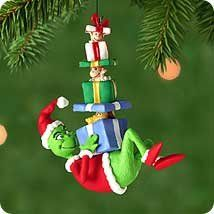hallmark keepsake ornament gifts for the grinch - Grinch Christmas Decorations Amazon