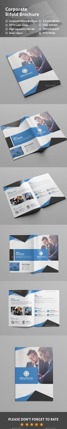 Bi-Fold Brochure Bi Fold Brochure, Corporate Brochure, Business Brochure, Brochure Design, Brochure Template, Medical Brochure, School Brochure, Javascript Cheat Sheet, Presentation