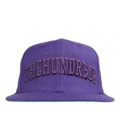 The Hundreds Clothing Player Snapback Hat - Purple $28.00 #thehundreds