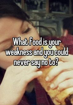 What food is your weakens?   PureRomance.com/BethTemple