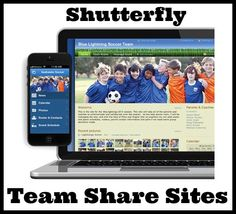 Shutterfly Team Share Sites- 1 account for sports teams to share photos. 1 of the 3 Quick Ways to Organize and Share Digital Photos