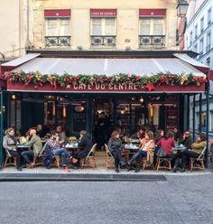 Café du Centre, rue Montorgueil, Paris 2e.