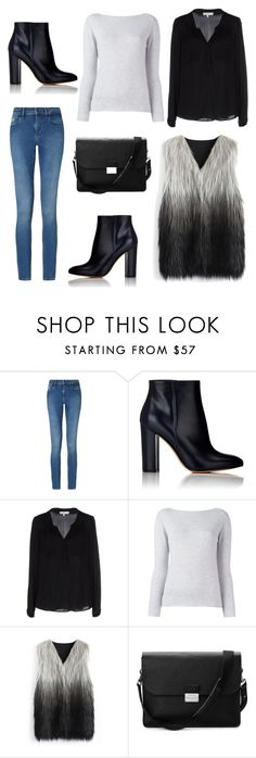 """""""Untitled #66"""" by beatrizfgarbelini ❤ liked on Polyvore featuring Calvin Klein, Gianvito Rossi, Milly, Fashion Clinic, Chicwish and Aspinal of London"""