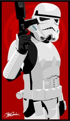 Stormtrooper pin-up /by ~witchking08 #deviantART #starwars #art