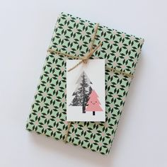 Audrey Jeanne - Gift tag