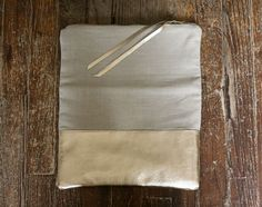 grey + gold #clutch