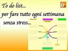 Come organizzare il tempo ogni settimana facendo una lista di priorità. 8 passi ed una Mappa Mentale per fare tutto e liberare tempo per te.