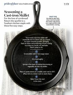 An outdoor camping dish can be as simple or as made complex as you desire as there's no factor to fear outdoor camping cooking is part of Cast iron skillet cooking - Cast Iron Care, Cast Iron Pot, Cast Iron Cookware, It Cast, Lodge Cast Iron, Cast Iron Skillet Cooking, Iron Skillet Recipes, Cast Iron Recipes, Season Cast Iron Skillet