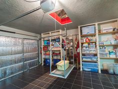 I am loving this garage - organized, electric oft for attic and door insulation