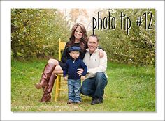 """Easy photography tips from Jean Smith. Love the tip about where to place """"MOM"""" in your photos."""
