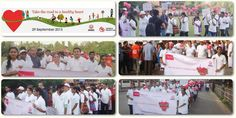 MIMS Participation in 'World Heart Day, Walk for your #Heart'.
