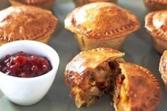 These veggie pies are a great, filling idea for meat-free Mondays.