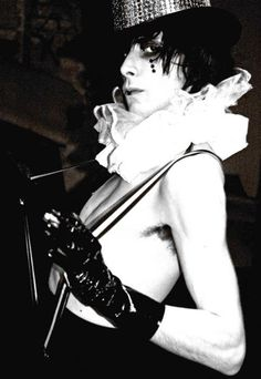 Chris Corner of IAMX.