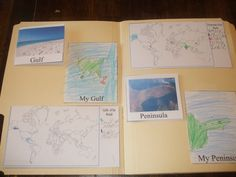Trying 2 Walk Wisely: Landforms Lapbook