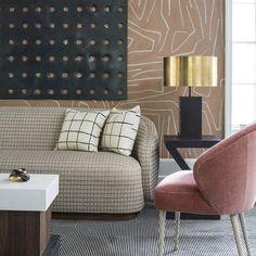 Kelly Wearstler fabrics, wallpaper and furniture