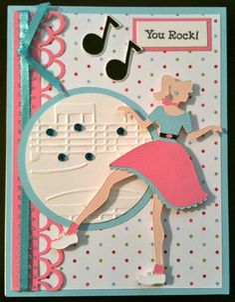 You Rock - Cricut Card