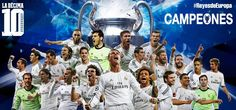 Real Madrid,campeones de Europa // Real Madrid,champions of Europe