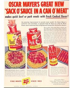 vintage_ads: Can o' Meat? Yum!