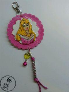 pendant school bag personalised princesses