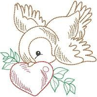 Floral Embroidery Patterns, Machine Embroidery Patterns, Vintage Embroidery, Embroidery Stitches, Nursery Patterns, Quilt Patterns, Bird Coloring Pages, Bird Quilt, Pillowcase Pattern