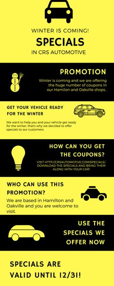 Redeem our special automotive coupons and make your Hamilton discount or Oakville to get the maintenance they deserve at the most affordable prices. Hamilton Ontario, Car Posters, Car Logos, Car Detailing, Used Cars, Coupons, Promotion, How To Get, Life