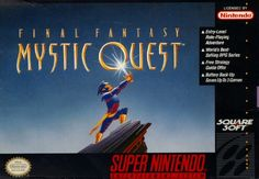 Week 17 - Mystic Quest - I only played a few minutes of Mystic Quest (Gotta play it again) but I have heard that it was created to introduce western gamers to RPGs. I have also heard that it was the first Final Fantasy game to be released in Europe.