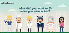What did you want to be when you were a younger? It's never too late, find your dream job on dubizzle.com --- ماذا كانت طموحاتك للمستقبل فى صغرك؟ حان وقت العثور على وظيفة أحلامك من خلال دوبيزل!