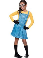 Girls Minion Costume - Minions Movie