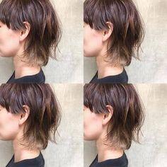 Medium Hair Cuts, Short Hair Cuts, Medium Hair Styles, Natural Hair Styles, Short Hair Styles, Mullet Haircut, Mullet Hairstyle, Asian Short Hair, Asian Hair