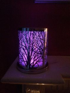 Ideas to use with the colour changing base. Enchanted woodland hurricane, used with a colour changing base https://samanthamarshall.partylite.co.uk/Home