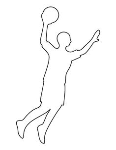 Basketball Player Pattern