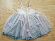 Victoria Kids Baby Girls Tulle Princess special occasion Dress 0-3 months EUC