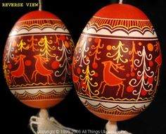 Ukrainian Easter Egg Pysanky UA06234 by Iryna Vakh  from the Lviv  on AllThingsUkrainian.com
