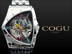 コグ COGU 流通限定モデル フルスケルトン 自動巻き 腕時計 BNT-BKC[bnt-bkc]