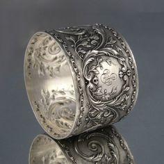 "Antique French Sterling Silver Napkin Ring Hallmark Soufflot Monogrammed ""As"" | eBay http://www.ebay.com/itm/Antique-French-Sterling-Silver-Napkin-Ring-Hallmark-Soufflot-Monogrammed-AS-/281357752287?pt=Antiques_Silver&hash=item41823a97df"