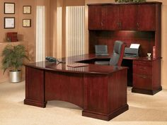 New, Used and Custom Office Furniture Tampa Executive Desk Set, Executive Office Furniture, Home Office Furniture, Desk Pad, Home Desk, Common Area, Desks, Fresh Start, Vancouver