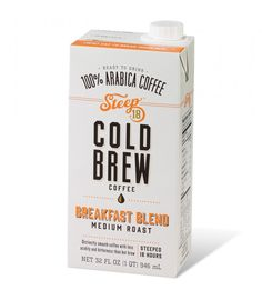 cold-brew  coffee packaging