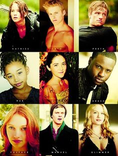 """think about it... each one of the tributes had their own story.. their own life.. and their own family. that means that each year (minus the 74th year)... 23 families practically died inside because their sons and daughters were murdered for fun. so when you think about how Cato and Thresh, Clove, Glimmer, Cashmere, Gloss, and all the other careers killed people for """"fun"""" think about this.. they just wanted to survive and live to see their families another day.."""