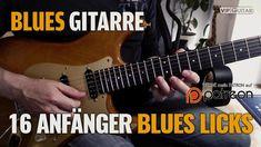 16 Anfänger Blues Licks -  Bluesgitarre für Einsteiger