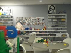 Lego in meeting rooms