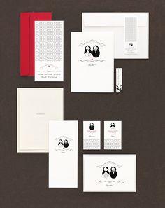 Matroschkas - Papeterie, Hochzeitspapeterie, Karten, Einladung, Kirchenheft, Danksagung, Save-the-Date, Menü, Programmheft, Hochzeitszeremonie
