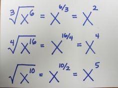 square root of negative one teach math: Fraction Exponents. - - square root of negative one teach math: Fraction Exponents. Infografik square root of negative one teach math: Fraction Exponents. Math Teacher, Math Classroom, Teaching Math, College Teaching, Math Formulas, Square Roots, Maths Algebra, Math Vocabulary, Math Multiplication
