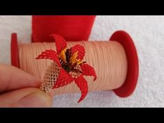 İğne oyası nar çiçeği anlatımı - YouTube Creative Embroidery, Needle And Thread, Make It Yourself, Blog, Crafts, Youtube, Bias Tape, Crocheting, Amigurumi
