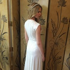 2016 Jenny Packham Bridal Event at the Mandarin Oriental Hotel London - Back View of the Nerissa Gown #JennyPackham #Bridal
