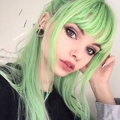Angelic Aurora Green on @lol.ivi