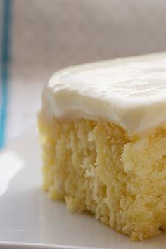 Lemon Poke Cake...from scratch