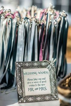 More Information 75 Wedding Wands Lace Ribbon Bells