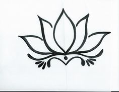Simple Lotus Flower Tattoo 4196.jpg