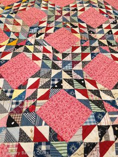 Laundry Basket Quilts Blog | Today's Quilts, Tomorrows Memories ~ Ocean Wave of scraps